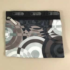 LeSportsac 2006 Radial Cosmetic Zipper Pouch